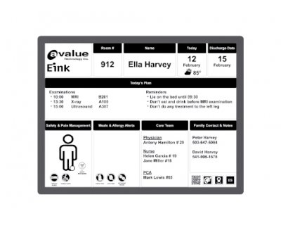 Avalue E Ink Communication Board Solution