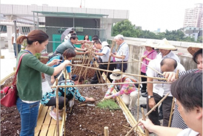 Participatory Rooftop Farms ─ New Taipei City
