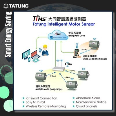 Tatung motor intelligent monitoring system - TiMS