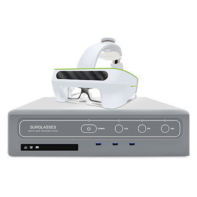 Augmented Reality Smart Surgical Glasses - Foresee-X