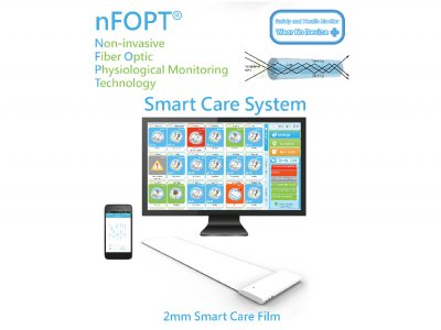 Non-invasive Fiber Optic Physiological Monitoring Technology (nFOPT®) and Smart Care System for Elderly and Babies