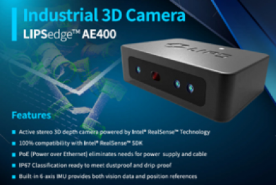 LIPSedge AE 400 Industrial 3D Camera