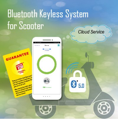 Bluetooth Keyless System for Scooter