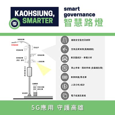 Kaohsiung 5G Smart Street  Light Demonstration Project